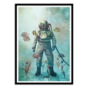 Wall Editions - Deep Sea Garden - Affiche art 50x70 cm