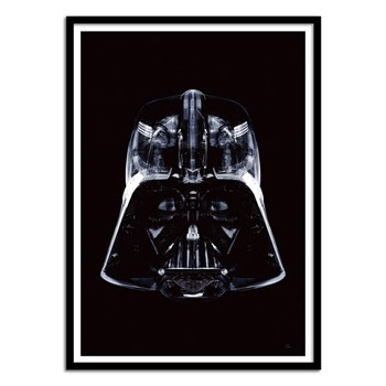 Wall Editions - Portrait Star Wars - Star Black Vador - Affiche art 50x70 cm