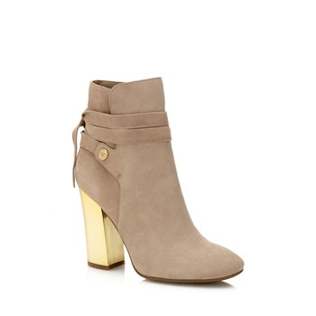 Lundy - Bottines en cuir - beige