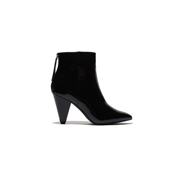 Bottines  en vinyle - noir