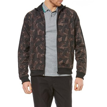 Fred Perry - Bombers camouflage - noir
