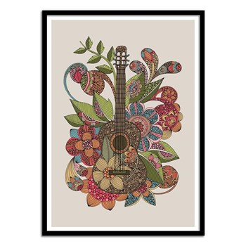 Wall Editions - Music Illustration - Ever Guitar - Affiche art 50x70 cm