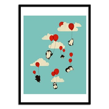 Wall Editions - We can Fly - Affiche art 50 x 70 cm pour enfants