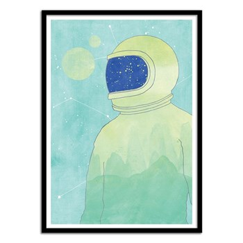 Wall Editions - Wanderer within - Affiche art 50 x 70 cm - multicolore