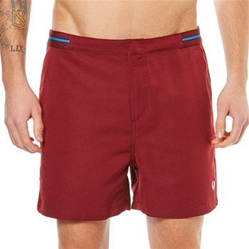 Fred Perry - Short de bain - bordeaux