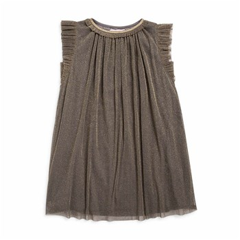 Robe tulle - gris