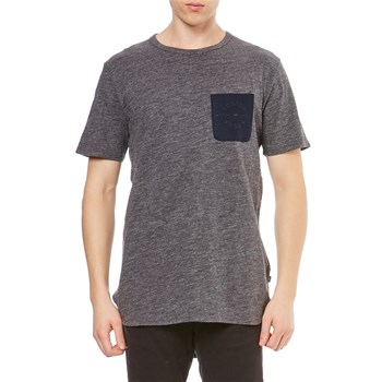 Scotch & Soda - T-shirt manches courtes - charbon