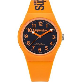 Superdry - Montre analogique - orange