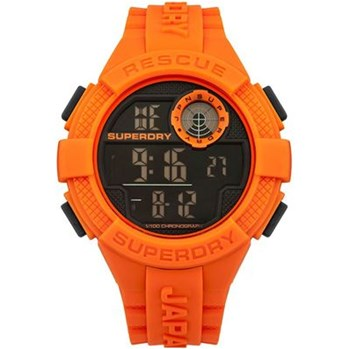 Radar - Montre avec bracelet en silicone - orange