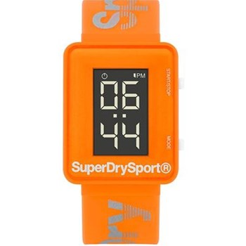 Superdry - Montre digitale - orange