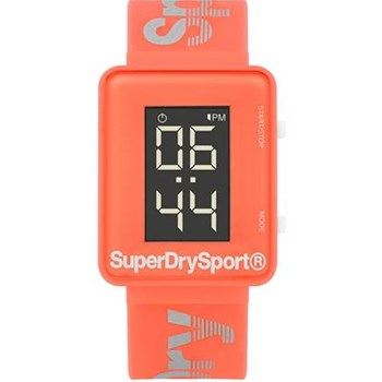 Superdry - Montre digitale - corail