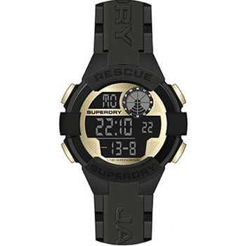 Superdry - Montre digitale - noir