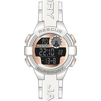 Superdry - Montre digitale - blanc
