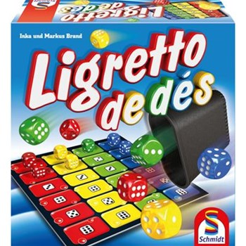 Ligretto de dés - multicolore