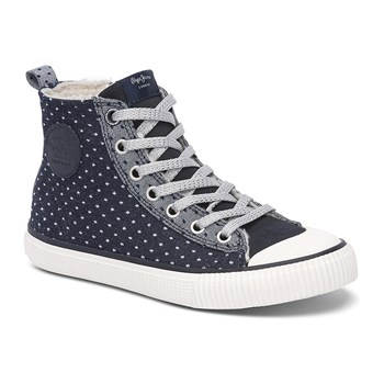 Industry Ripped - High Sneakers - jeansblau