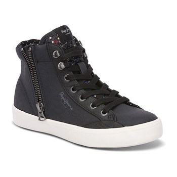 Parson Fur - High Sneakers - schwarz