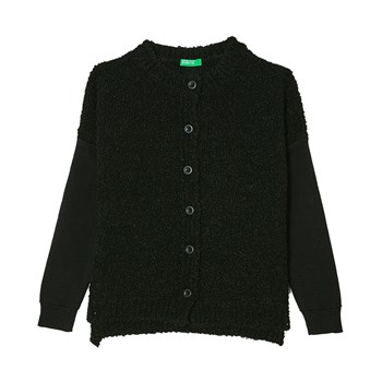 Benetton - Strickjacke - schwarz