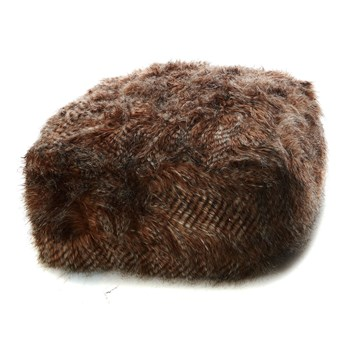 Home and Styling - Pouf - marrone chiaro
