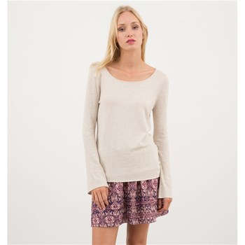 LPB Woman - Pull chiné - beige