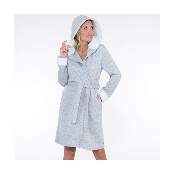 Cocooning - Robe de chambre - gris