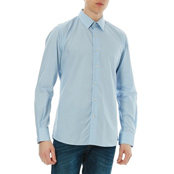 Karl Lagerfeld - Chemise manches longues - bleu clair