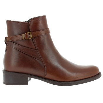 Fez - Bottines en cuir - marron