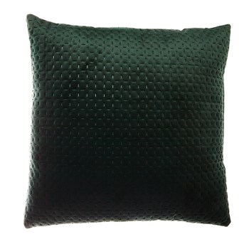 Home and Styling - Coussin velours - vert