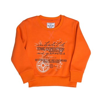 Travel - Sweat-shirt - orange