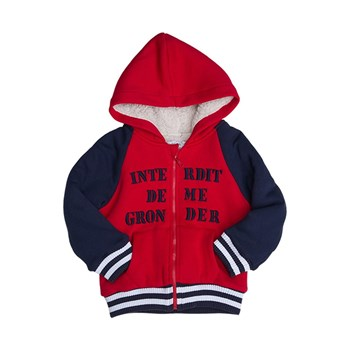 Cooly - Veste en sweat - rouge