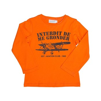 Aviateur - T-shirt manches longues - orange