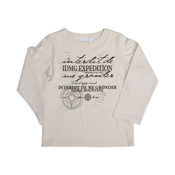 Expedition - T-shirt manches longues - beige