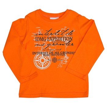 Expedition - T-shirt manches longues - orange
