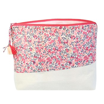 Flore - Trousse de toilette - rose