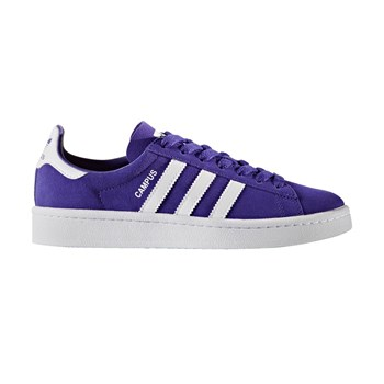 Campus J - Baskets en cuir - violet