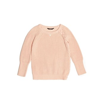 Guess Kids - Pull lacet - rose