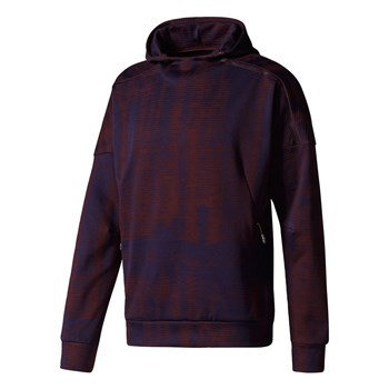 Zne Pulse Hdswt - Sweat à capuche - bordeaux