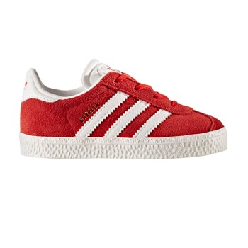 Gazelle I - Baskets en cuir - rouge