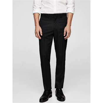 Mango Man - Tailored - Pantalon - noir