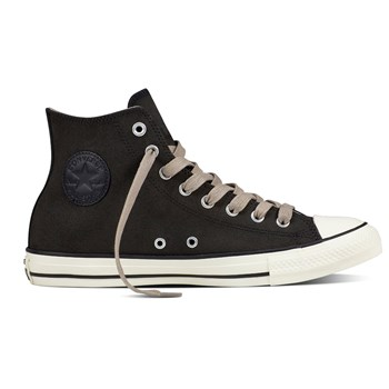 Chuck Taylor All Star - Baskets montantes en cuir - noir