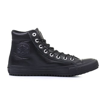 Chuck Taylor All Star Boot PC - Baskets montantes en cuir - noir