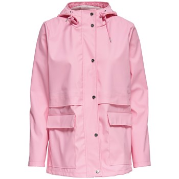 Only - Train - Parka - rosa
