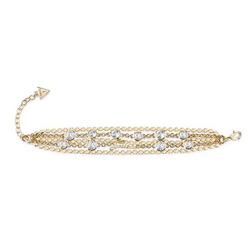 Guess - Cry beauty - Bracelet multi-rangs - doré