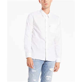 db132bb1ad20 Levi s Sunset 1 pocket - Camicia a maniche lunghe - bianco