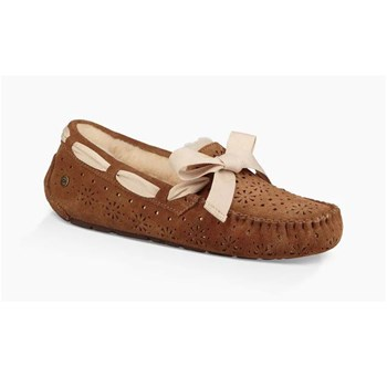 Dakota - Slippers en cuir - camel