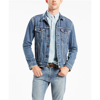 Levi's - The Trucker - Chaqueta vaquera - denim azul
