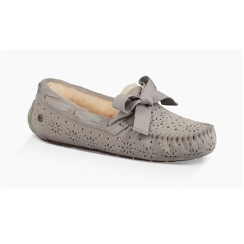 Dakota - Slippers en cuir - gris