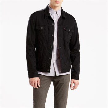 Levi's - The Trucker - Veste en jean - denim noir