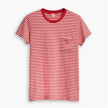 The perfect crew - T-shirt manches courtes - rouge