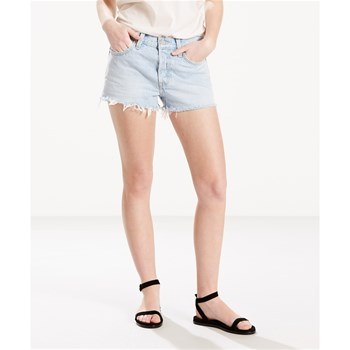 501 - Short - denim azul