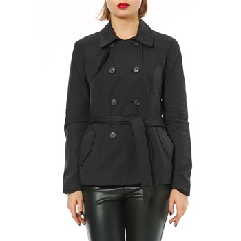 Only - Trenchcoat - schwarz